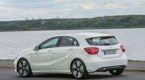 Mercedes A-Klasse Facelift, 09/15, Fahrbericht, Heck