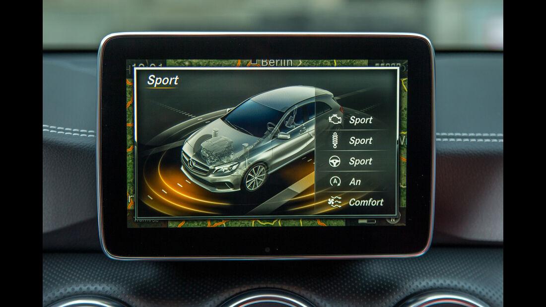 Mercedes A-Klasse Facelift, 09/15, Fahrbericht, Infotainment
