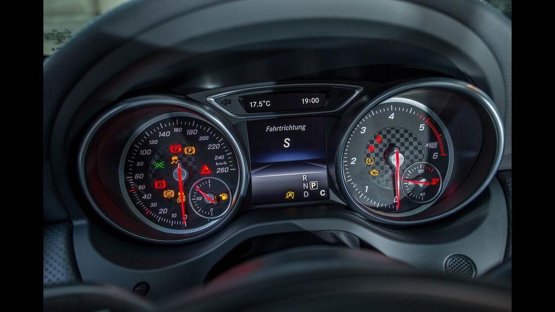 Mercedes A-Klasse Facelift, 09/15, Fahrbericht, Interieur Details