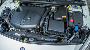 Mercedes A-Klasse Facelift, 09/15, Fahrbericht, Motor