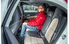 Mercedes A-Klasse Facelift, 09/15, Fahrbericht, Rückbank