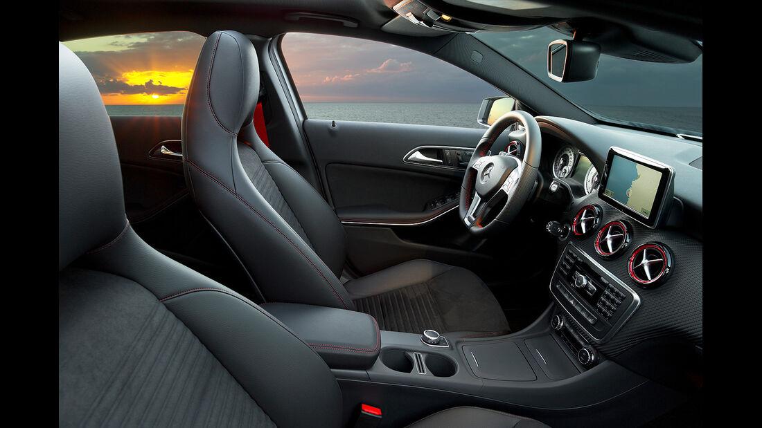 Mercedes A-Klasse, Fahrersitz elektrisch verstellbar mit Memory-Funktion