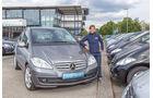 Mercedes A-Klasse, Frontansicht, Anna Matuschek