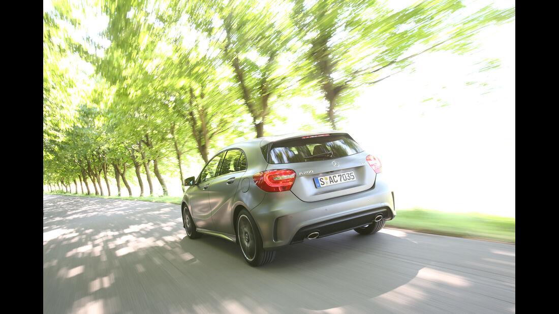 Mercedes A-Klasse, Heckansicht