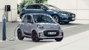 Mercedes A-Klasse Hybrid Smart Fortwo EQ Collage