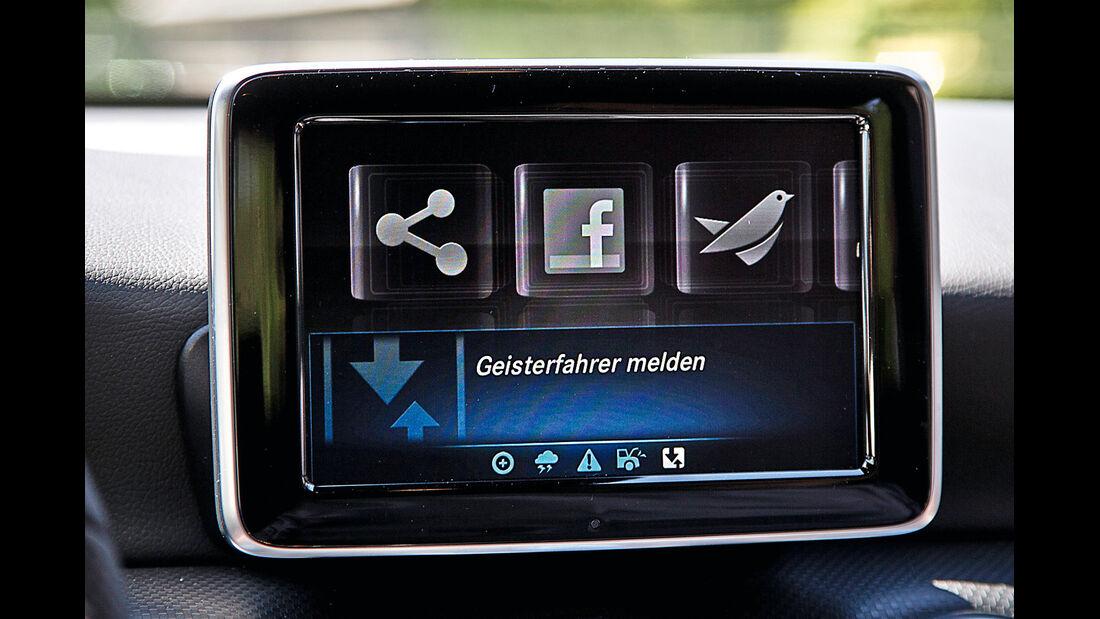 Mercedes A-Klasse, Infotainment