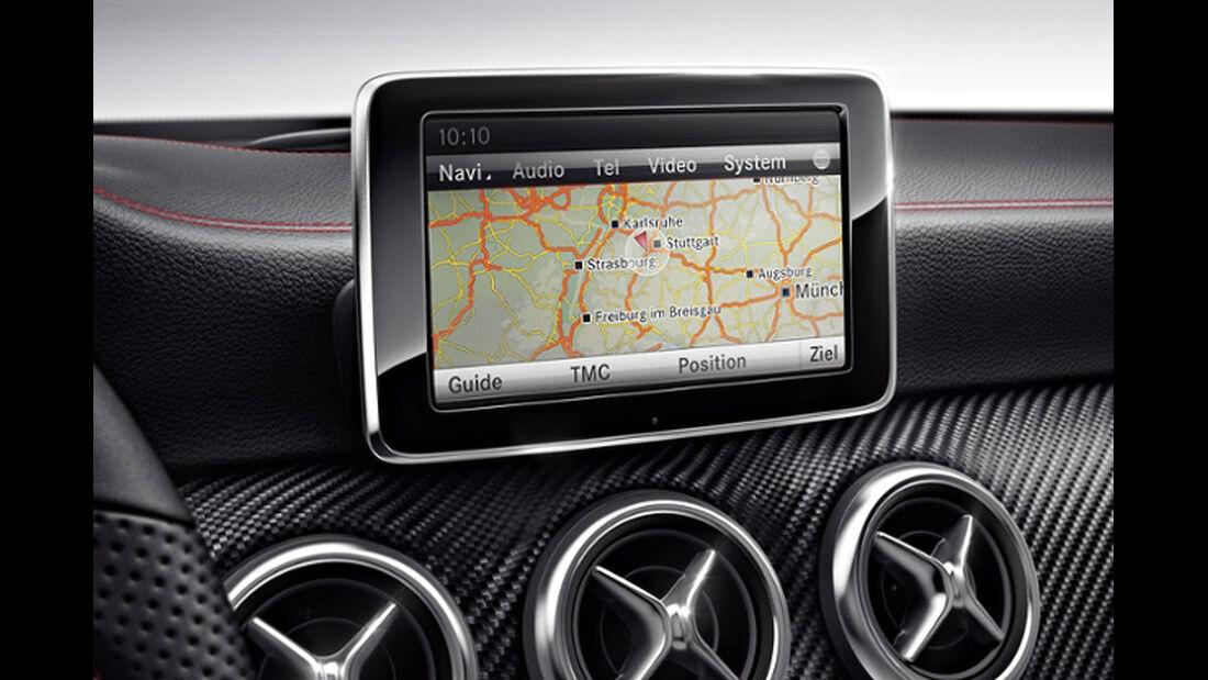 Mercedes A-Klasse, Infotainmentsystem
