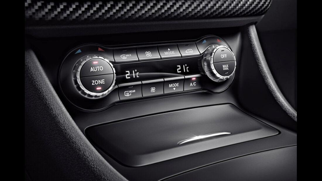 Mercedes A-Klasse, Klimaautomatik