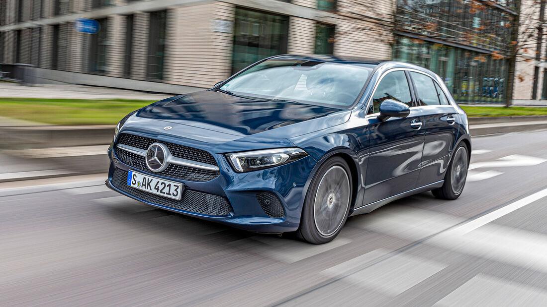 Mercedes A-Klasse, Lichttest