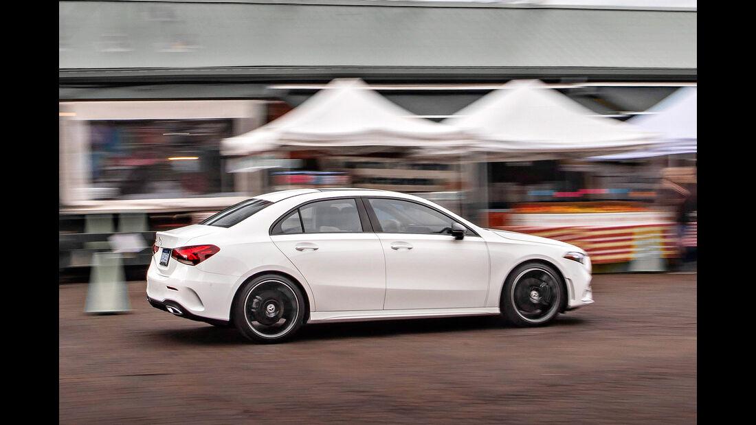 Mercedes A-Klasse Limousine, Exterieur