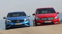 Mercedes A-Klasse, Mercedes B-Klasse, Frontansicht