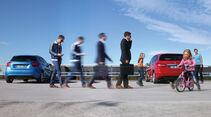 Mercedes A-Klasse, Mercedes B-Klasse, Heckansicht