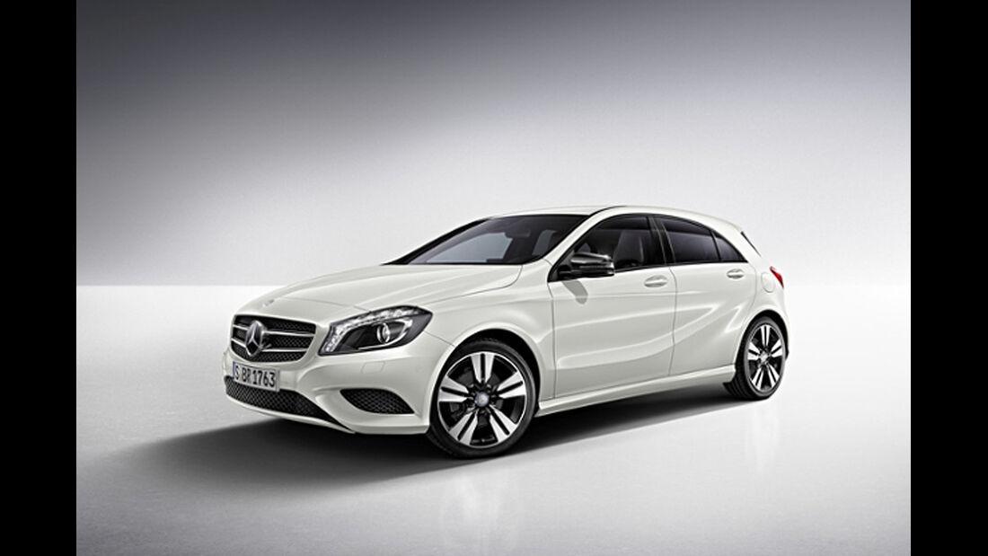 Mercedes A-Klasse, Night-Paket