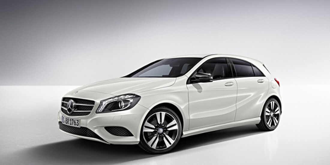 Mercedes A-Klasse, Night-Paket