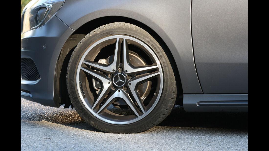 Mercedes A-Klasse, Rad, Felge