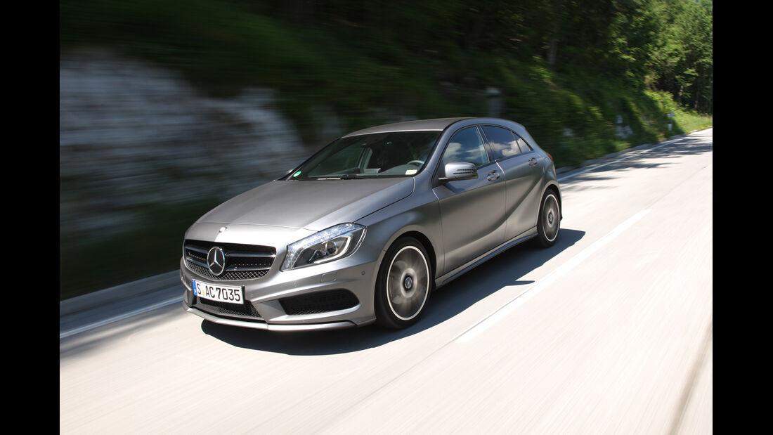 Mercedes A-Klasse, Seitenansicht
