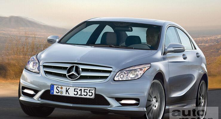 Mercedes A-Klasse Studie