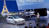 Mercedes A-Klasse, Vorstellung