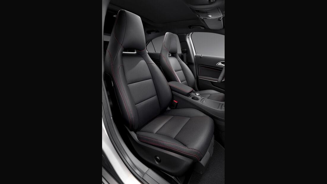 Mercedes A-Klasse, elektrisch verstellbarer Beifahrersitz