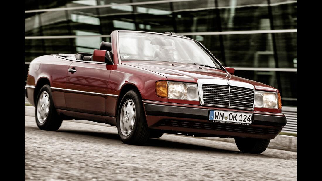 Mercedes A124 Cabriolet, Frontansicht