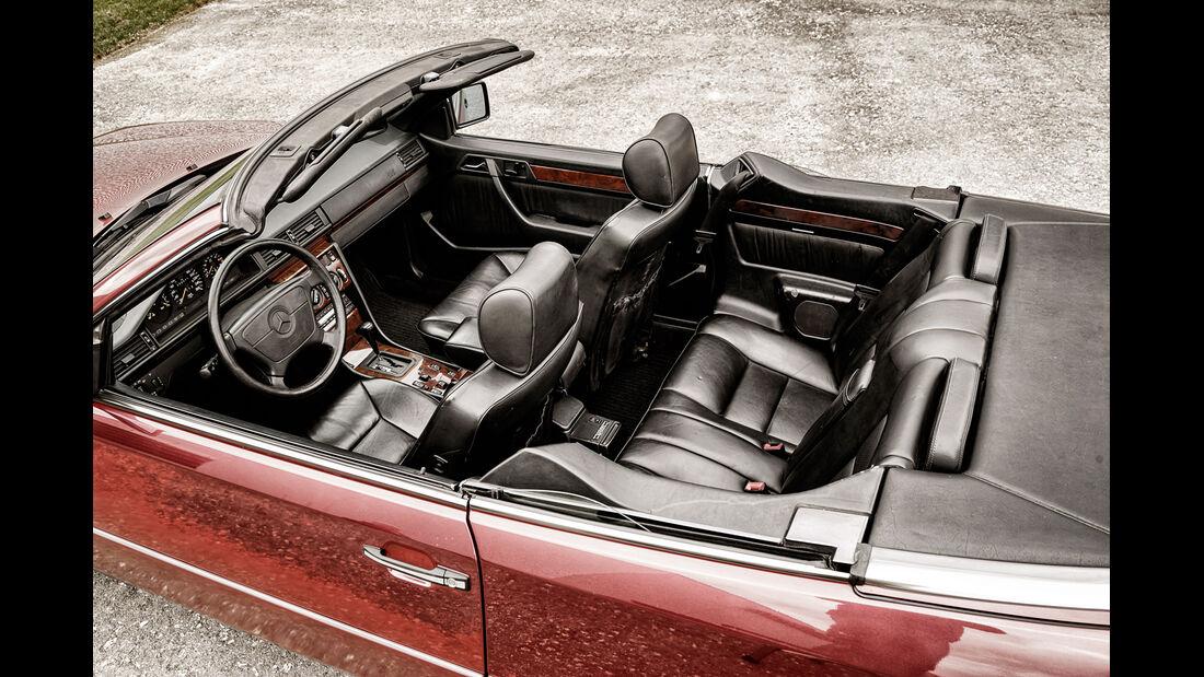 Mercedes A124 Cabriolet, Interieur, Sitze