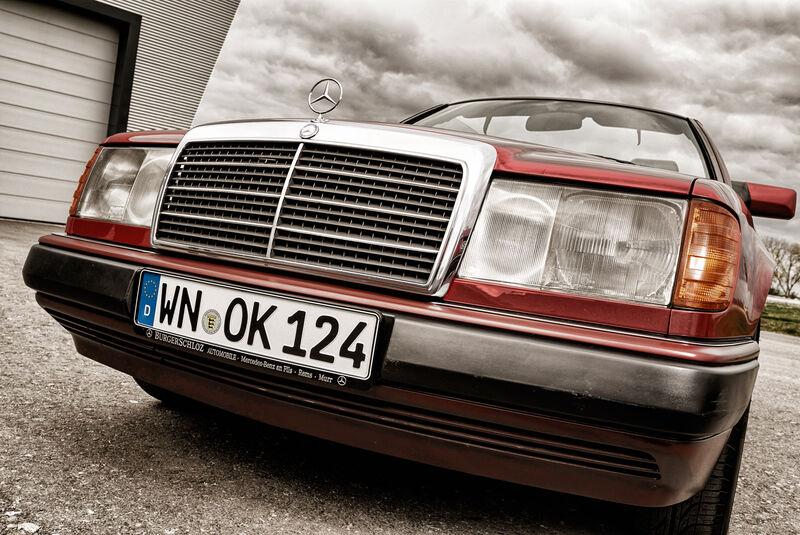 Mercedes A124 Cabriolet, Kühlergrill
