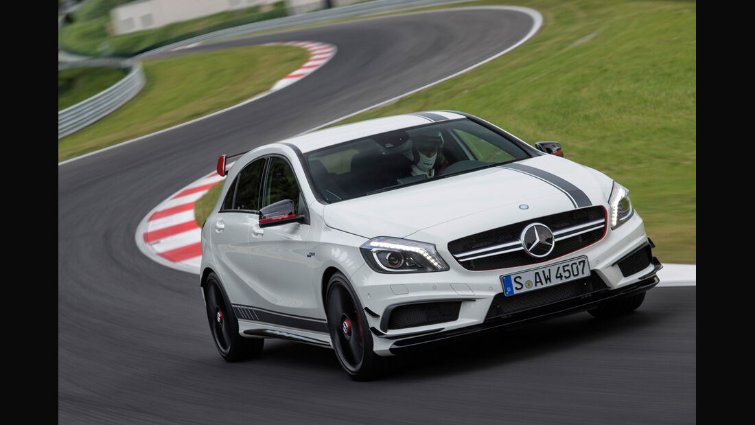 Mercedes A45 AMG Edition 1, Frontansicht