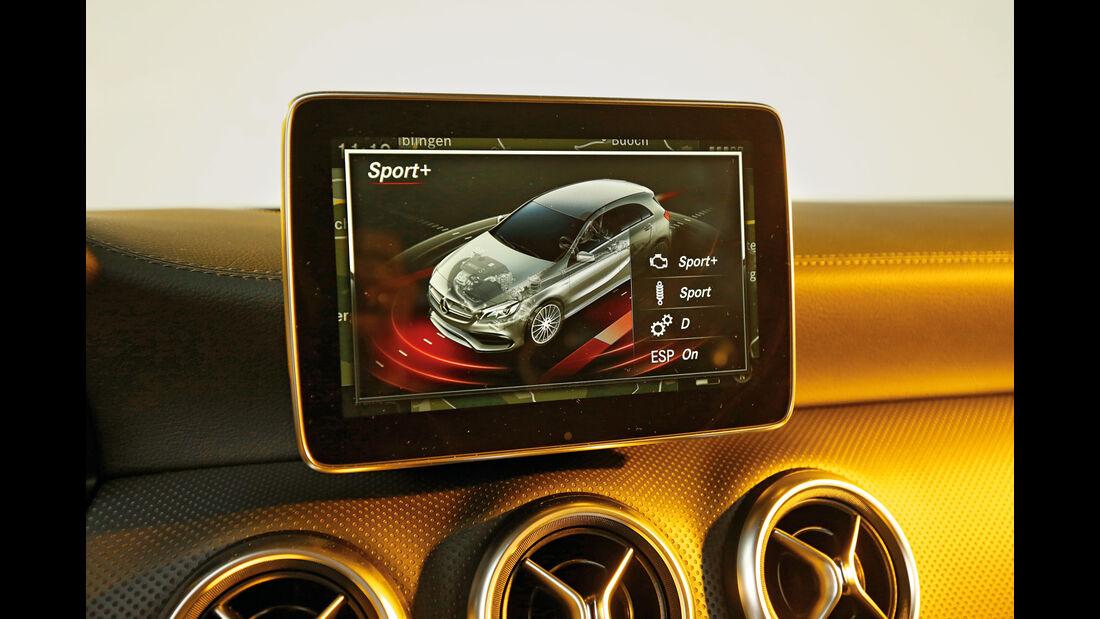 Mercedes-AMG A 45 4Matic, Display, Infotainment