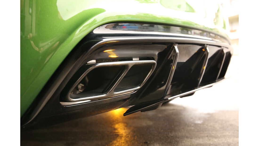 Mercedes-AMG A 45 4Matic, Endrohre, Auspuff
