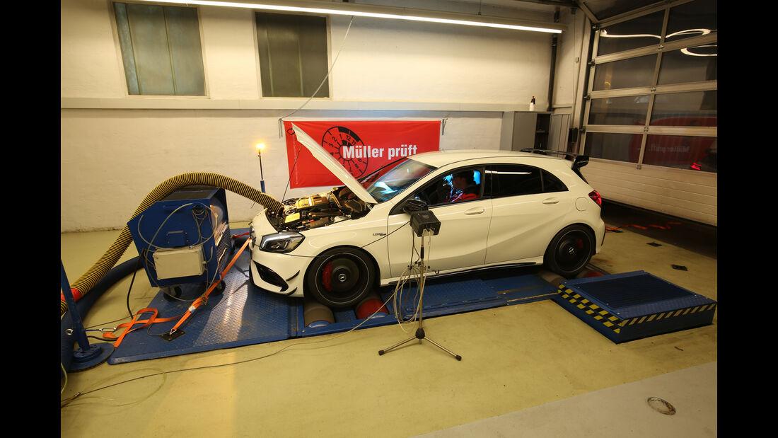 Mercedes-AMG A 45 4Matic, Leistungstest
