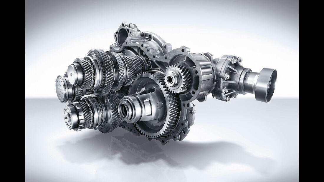Mercedes-AMG A 45 - Fahrbericht - Siebengang-Doppelkupplungsgetriebe