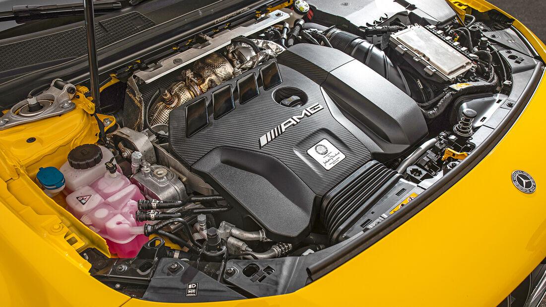 Mercedes-AMG A 45 S 4Matic+, Motor