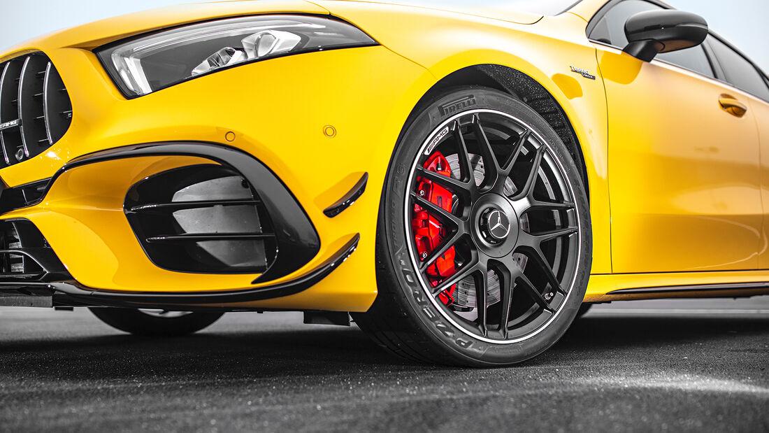 Mercedes-AMG A 45 S 4Matic+, Rad