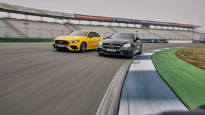 Mercedes-AMG A 45 S, Mercedes-AMG C 43 Coupe, Exterieur