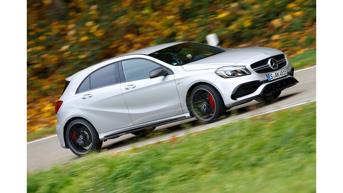 Mercedes AMG A 45, Seitenansicht