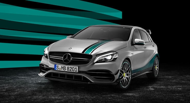 Mercedes-AMG A 45, Sondermodell, World Champion Edition