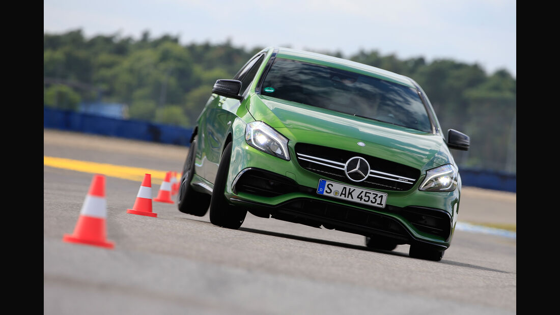 Mercedes-AMG A, Frontansicht