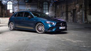 Mercedes-AMG A35, Einzeltest, front