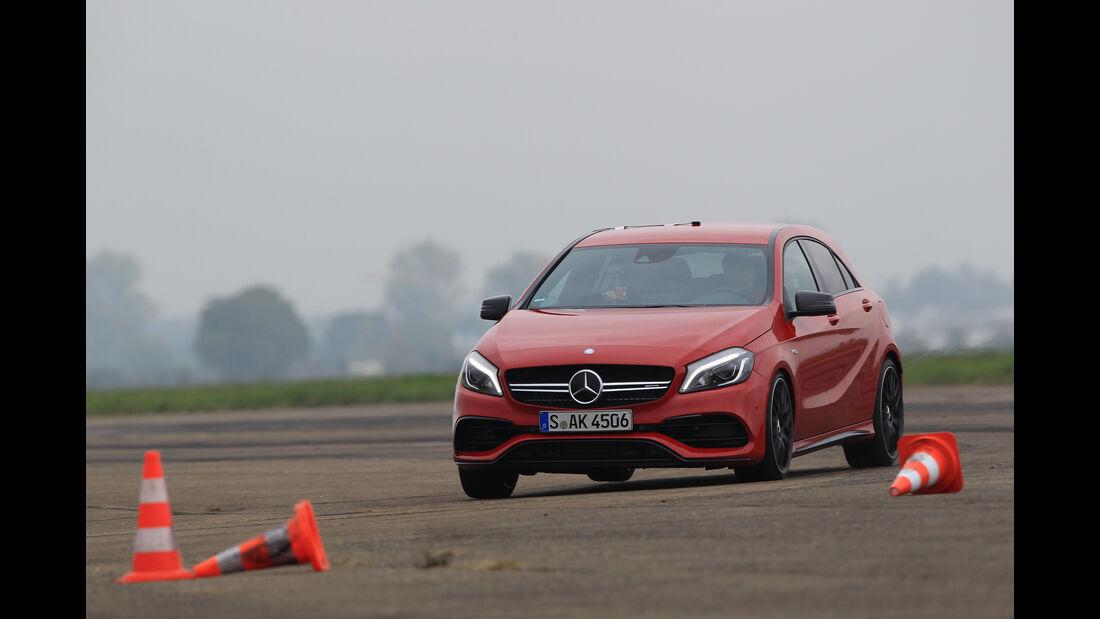 Mercedes-AMG A45 4Matic, Bremstest