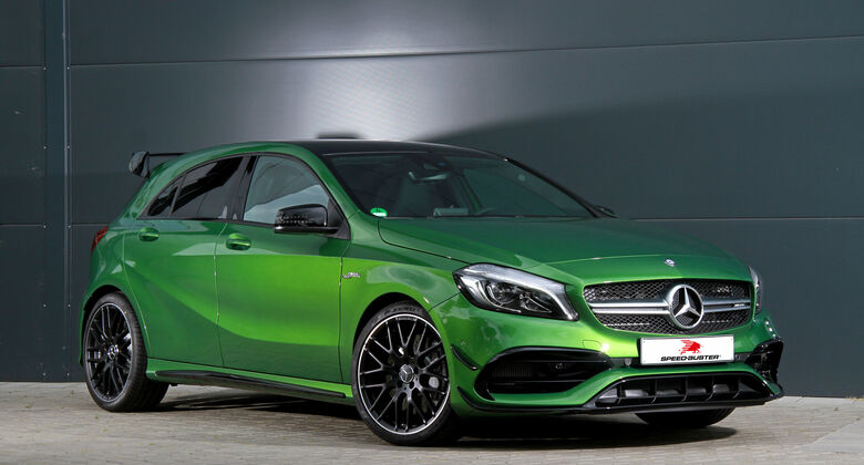 Mercedes AMG A45 von Speed-Buster