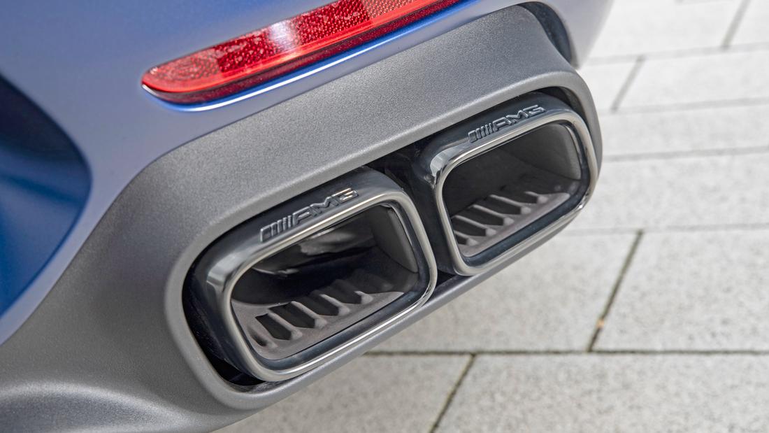 Mercedes AMG Auspuffanlage