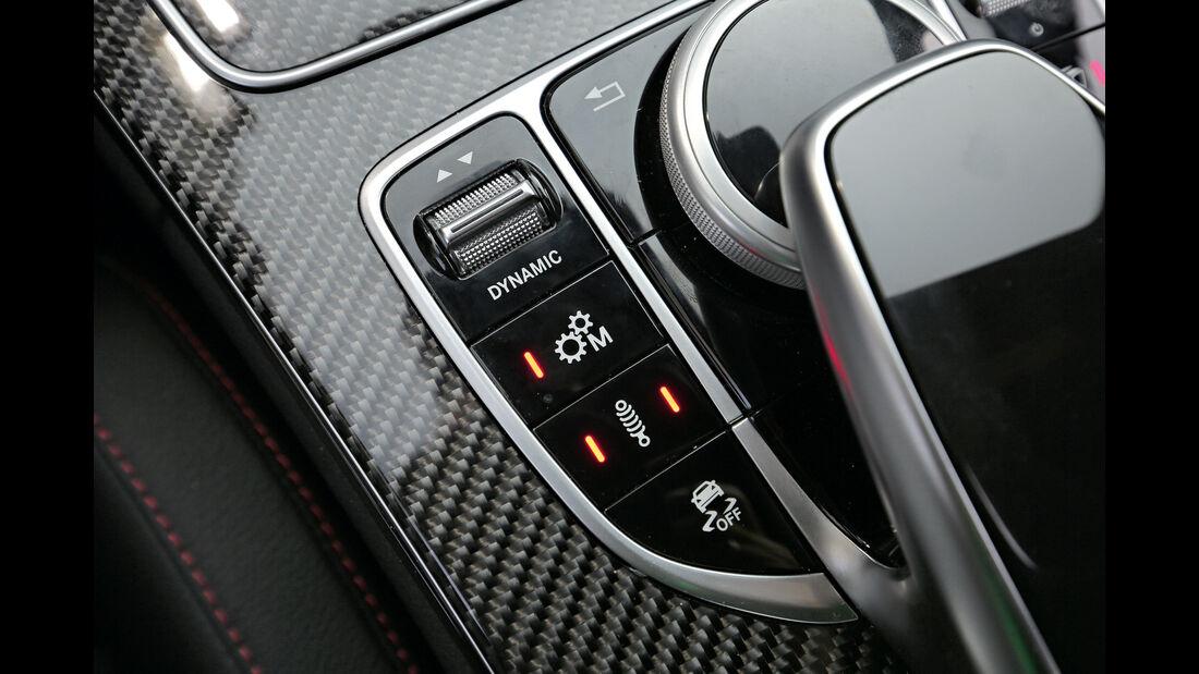 Mercedes-AMG C 43 4Matic, Bedienelemente