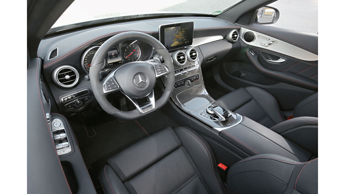 Mercedes-AMG C 43 4Matic, Cockpit