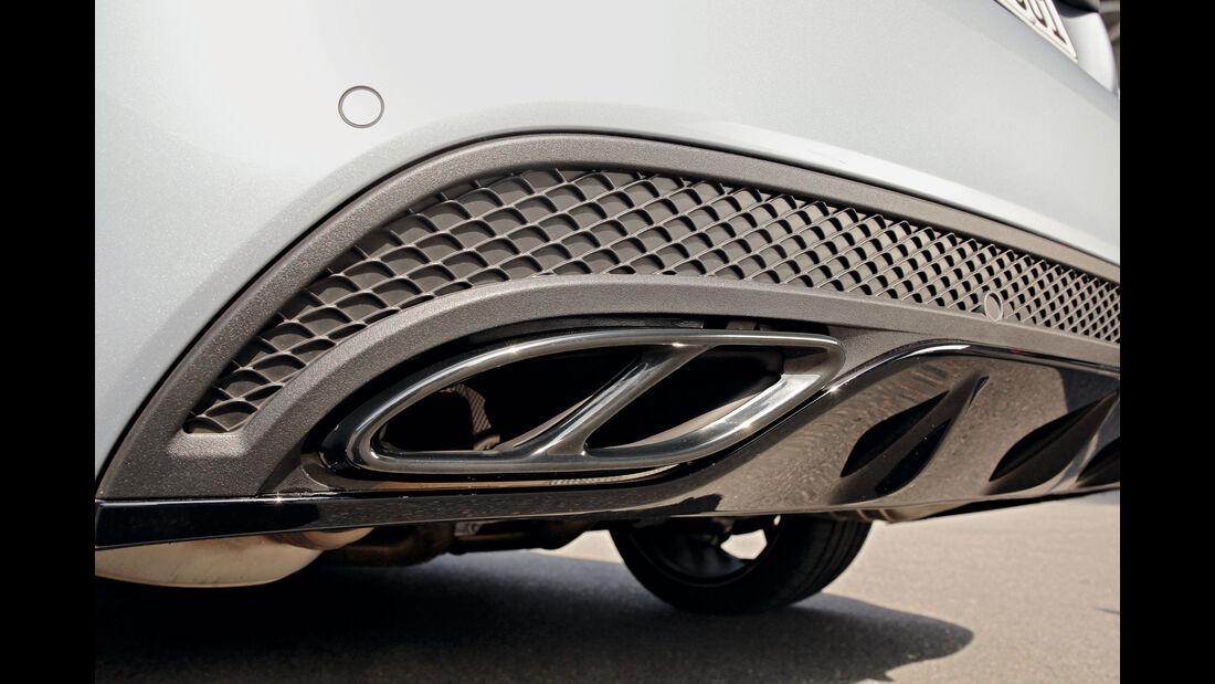 Mercedes-AMG C 43 4Matic, Endrohre