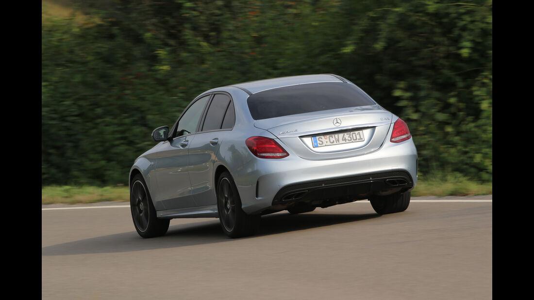 Mercedes-AMG C 43 4Matic, Heckansicht