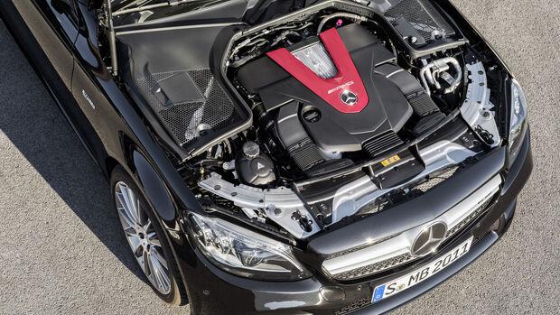 Mercedes-AMG C 43 Facelift, MOPF 2018, V6-Motor, Biturbo