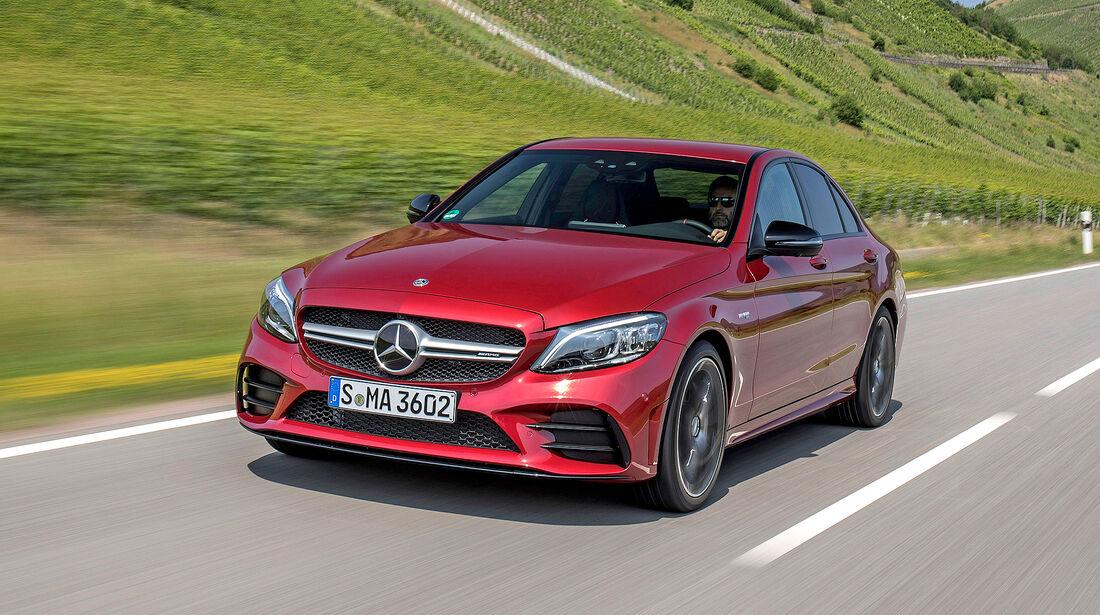 Mercedes-AMG C 43 - Serie - Limousinen bis 75000 Euro - sport auto Award 2019