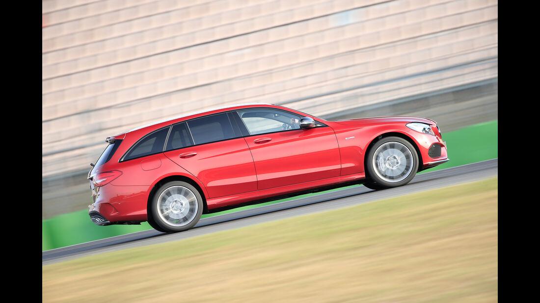 Mercedes-AMG C 43 T, Seitenansicht