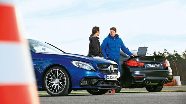 Mercedes-AMG C 63, BMW M4 Coupé