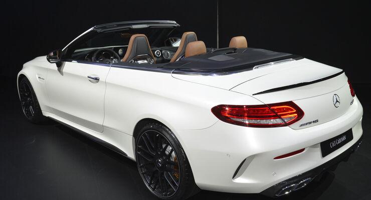 Mercedes-AMG C 63 Cabrio, Heck